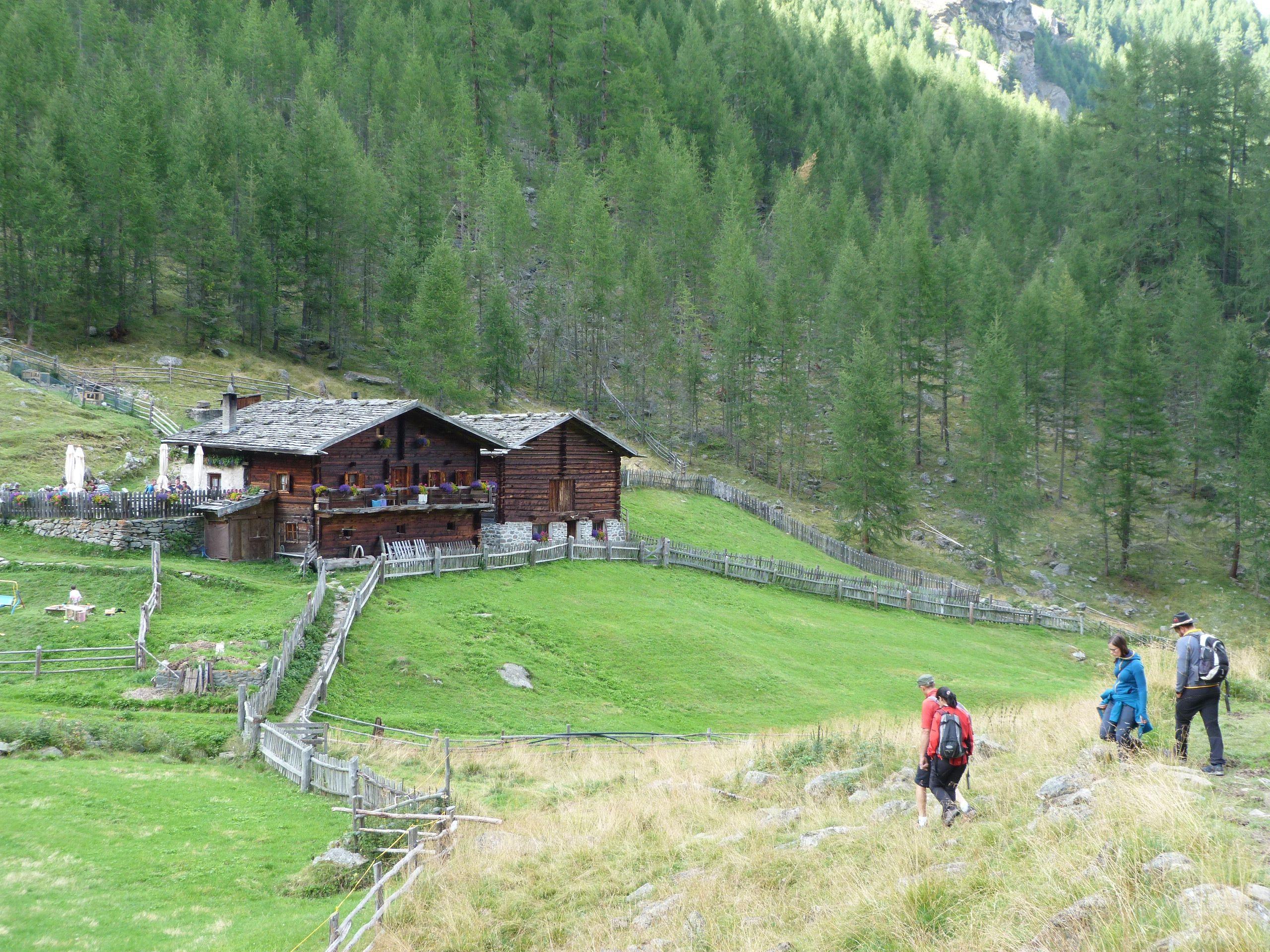 Almen und Hütten im Schnalstal