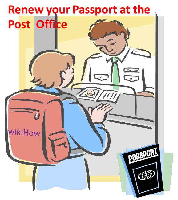 Renew A Us Passport At The Post Office Pinterest Passport