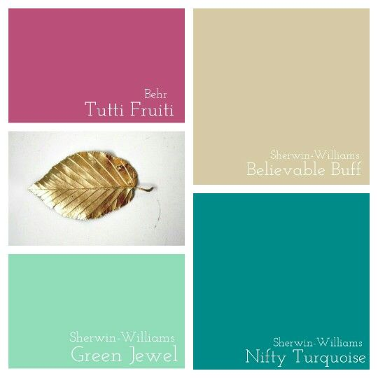 Bonus Room Behr Tutti Fruti Rustoleum Gold Metallic Sherwin Williams Green Jewel Believable Buff And Nifty Turquoise