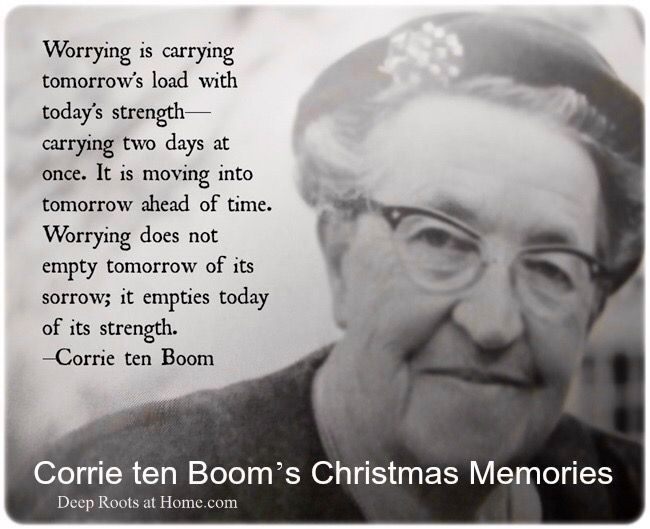 Visiting Corrie's Christmas Memories of Christmases Past