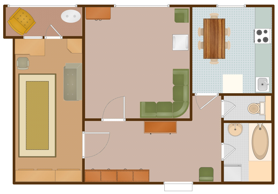 Pin By Conceptdraw On Building Plans Floor Plans Small House Design Floor Plans House Design