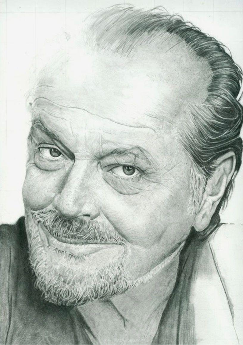 Jack Nicholson Szkice Twarze Pinterest Drawings Cool Pencil