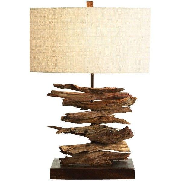 palecek lighting. Palecek Driftwood Stick Lamp ($592) ❤ Liked On Polyvore Featuring Home, Lighting, Lighting A