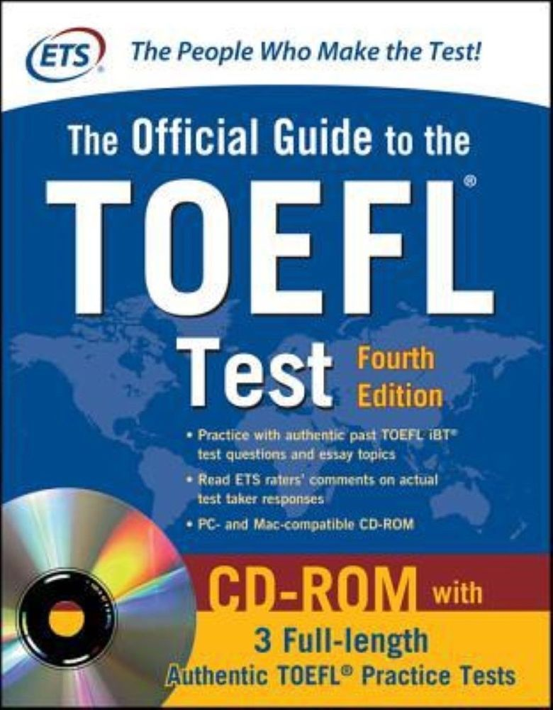 official guide to the toefl test with cd rom 4th edition 0071766588 rh pinterest com toefl preparation guide скачать toefl preparation guide 2017 and 2018