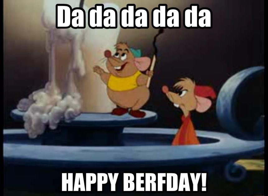 """Gus Gus...""""uh, happy berfday""""   Cinderella Party ideas ..."""