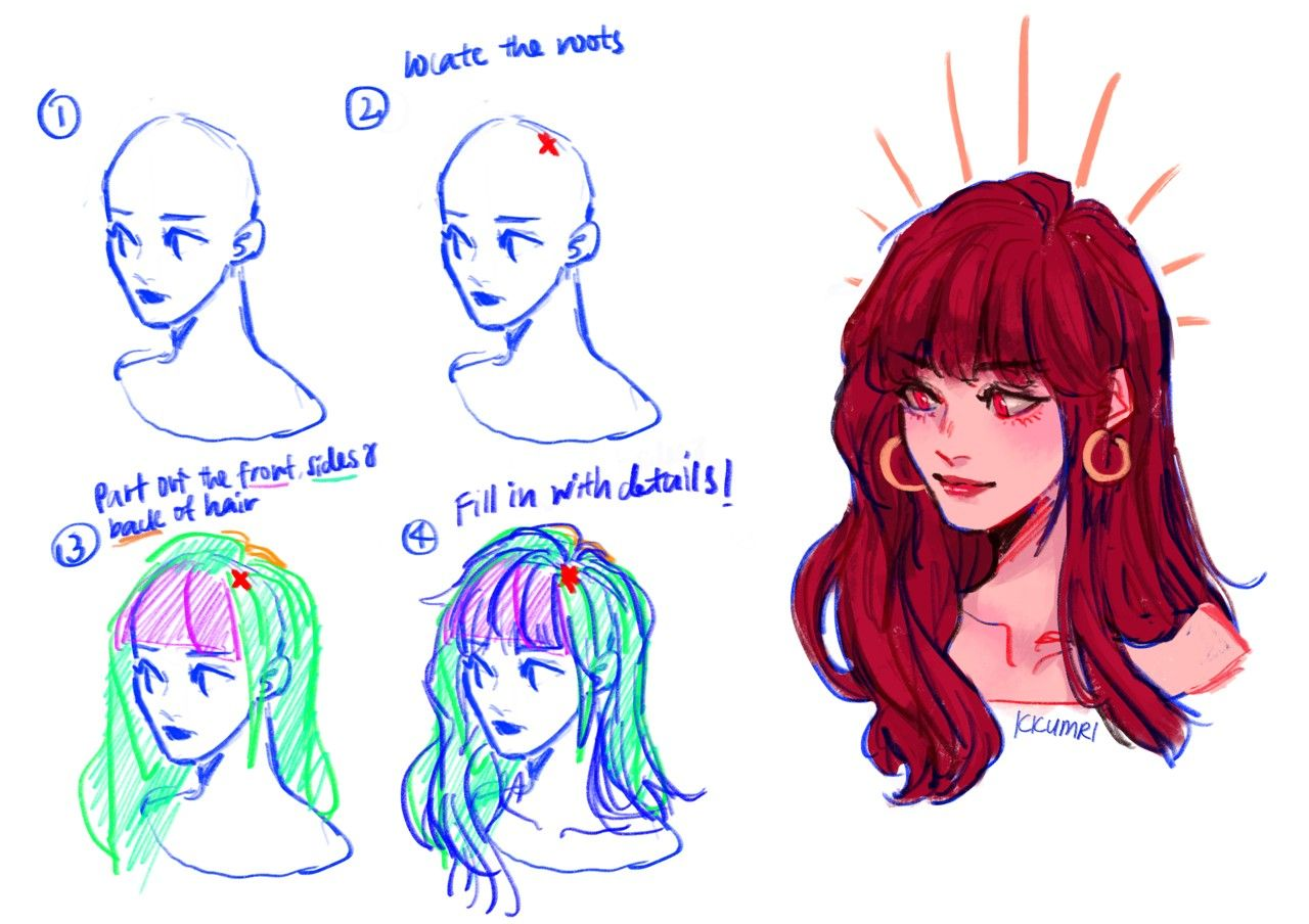 By Kkumri On Tumblr Drawings Art Tutorials Drawing Challenge