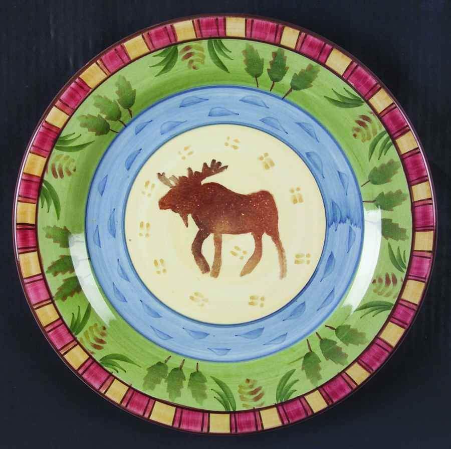 Bella TIMBERLINE Moose Dinner Plate 5865122  sc 1 st  Pinterest & Bella TIMBERLINE Moose Dinner Plate 5865122 | Moose Dinners and ...
