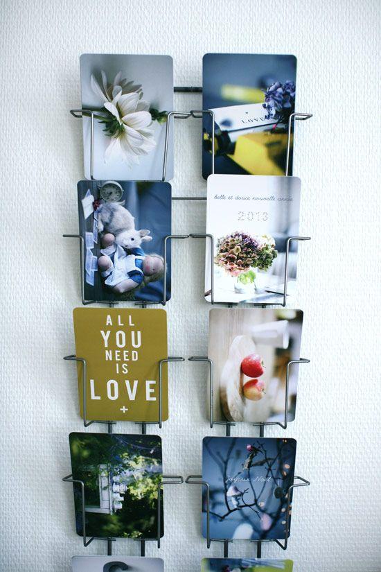 http://carolinebriel.com/cinqmai/ | Porte carte postale, Photo deco, Image deco