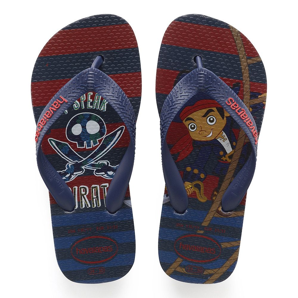 1664594d7 Havaianas Kids Jake And The Pirates Sandal Navy Blue Price From  £14.15