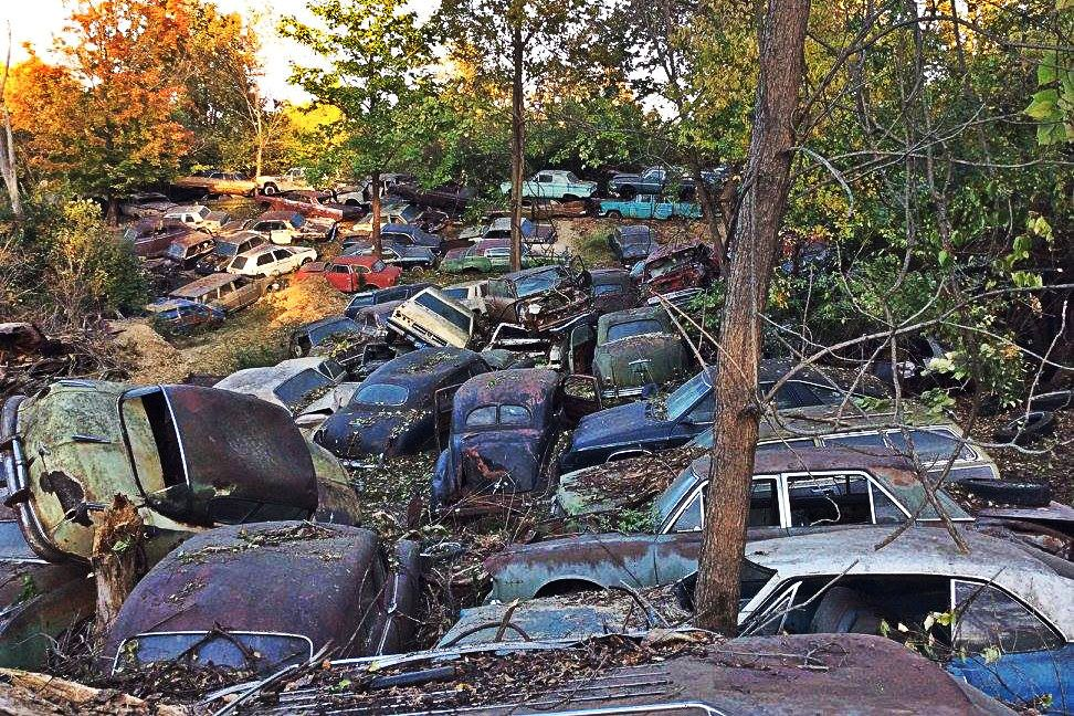 Forgotten Wrecking Yard Liquidation Wrecking Yards Junkyard
