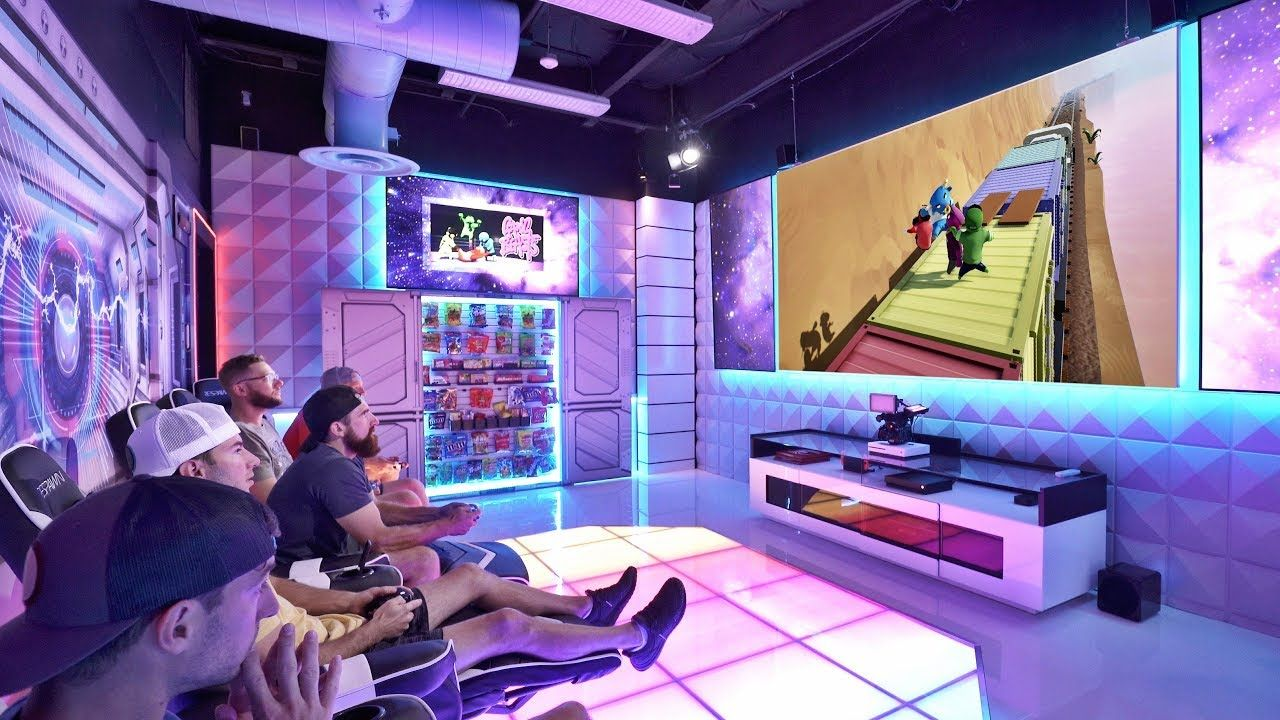 World S Best Gaming Room Overtime 10 Dude Perfect Dude
