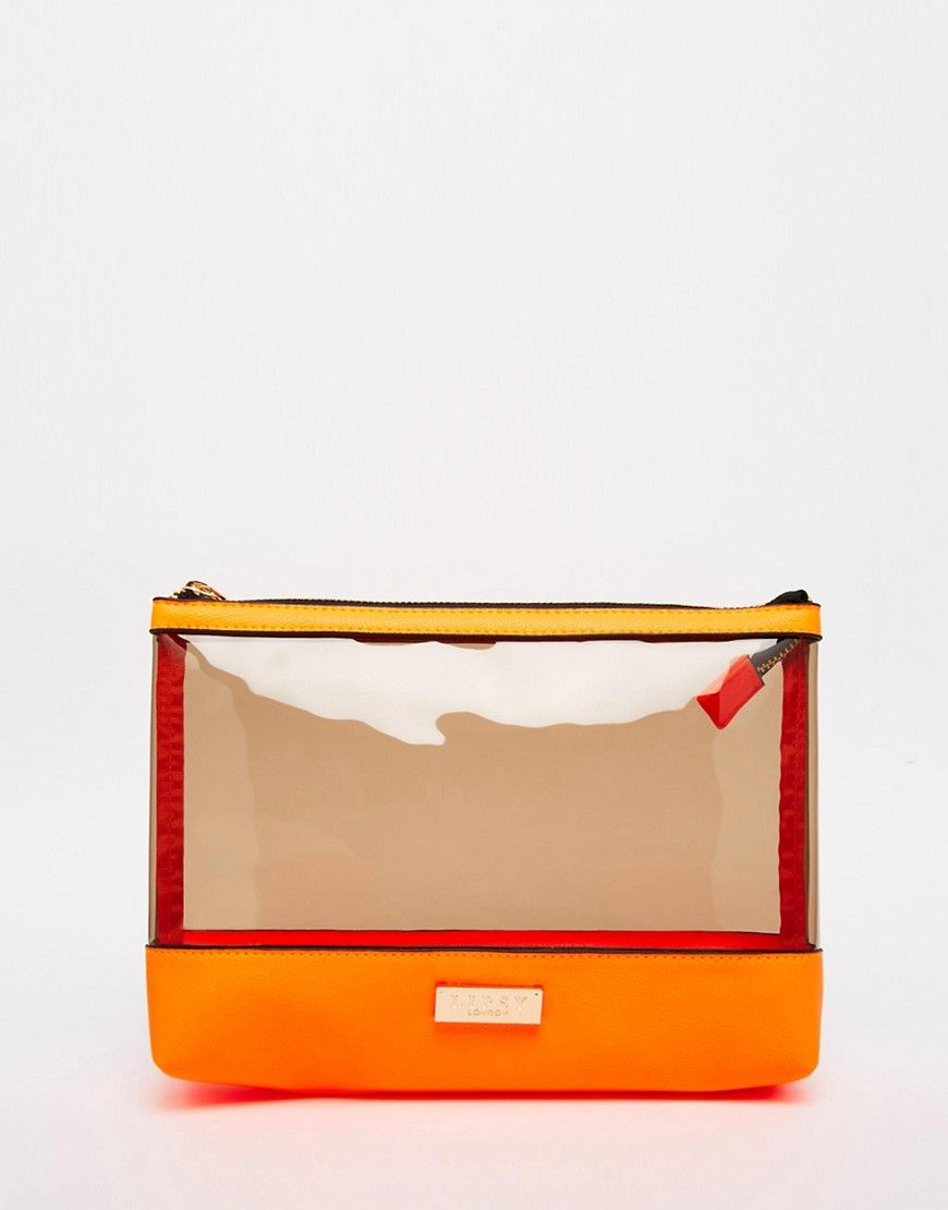 Image 1 Of Lipsy Neon Jelly Clutch Bag
