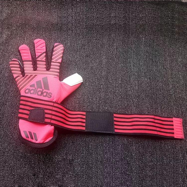 padded football gloves adidas