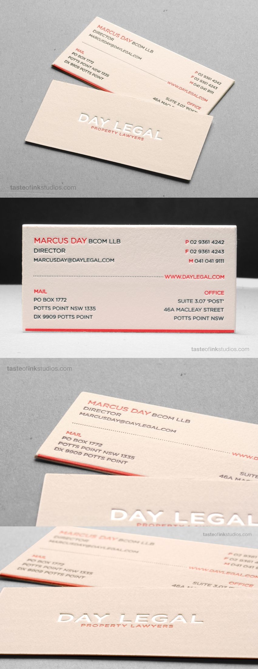 Day legal cotton letterpress business card business cards on business card templates designs from graphicriver reheart Images