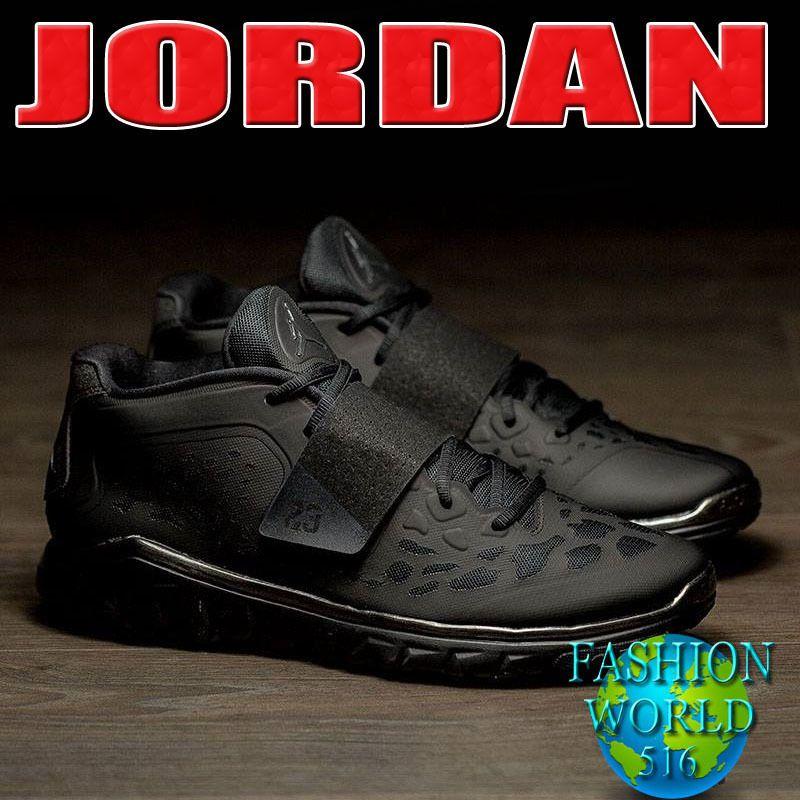 more photos 7fa36 fe039 ... promo code for nike 768911 010 air jordan flight flex trainer 2 mens  training shoe black