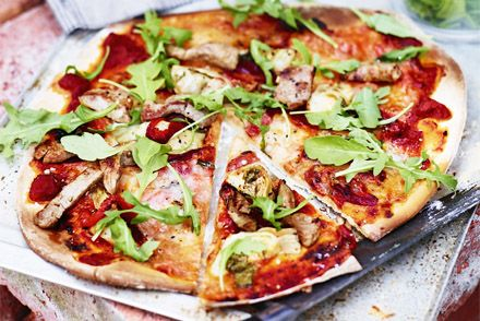Pizza recept italiensk