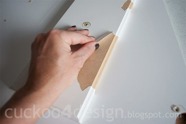 Peeling Patching And Painting Laminate Cabinets Home Ideas
