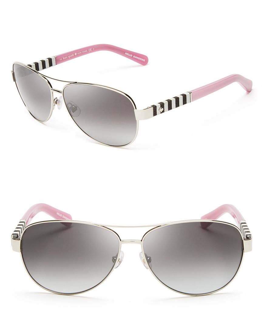 188f87b93e kate spade new york Dalia Aviator Sunglasses