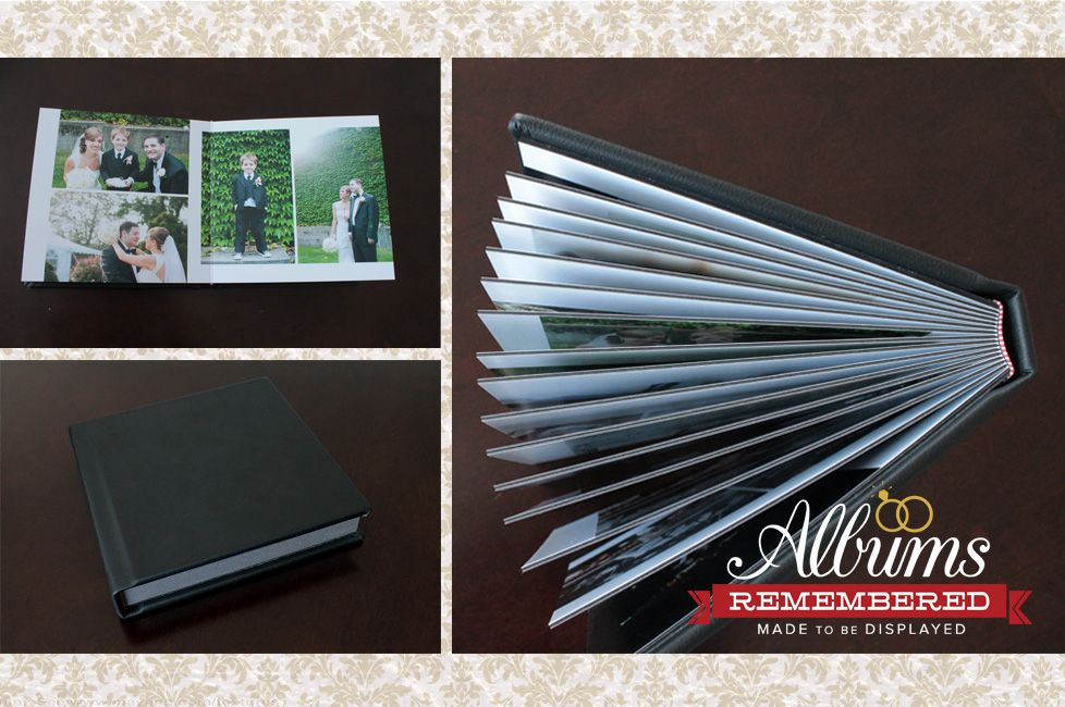 Wedding Photo Album Classic Black Leather Cover Prices Start At 350 Including