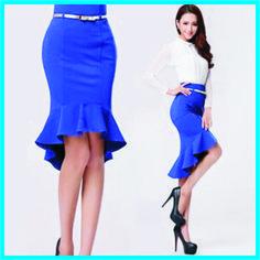 8c172b516 Uma saia super charmosa e cheia de estilo, para você fazer e arrasar! O  Molde desta saia está completo, do tamanho 36 ao 46, lá, na m.