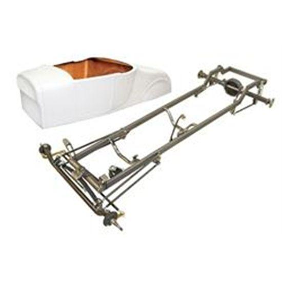 Deluxe \'27 T-Bucket Frame Kit w/ Standard Body, Unchanneled Floor ...