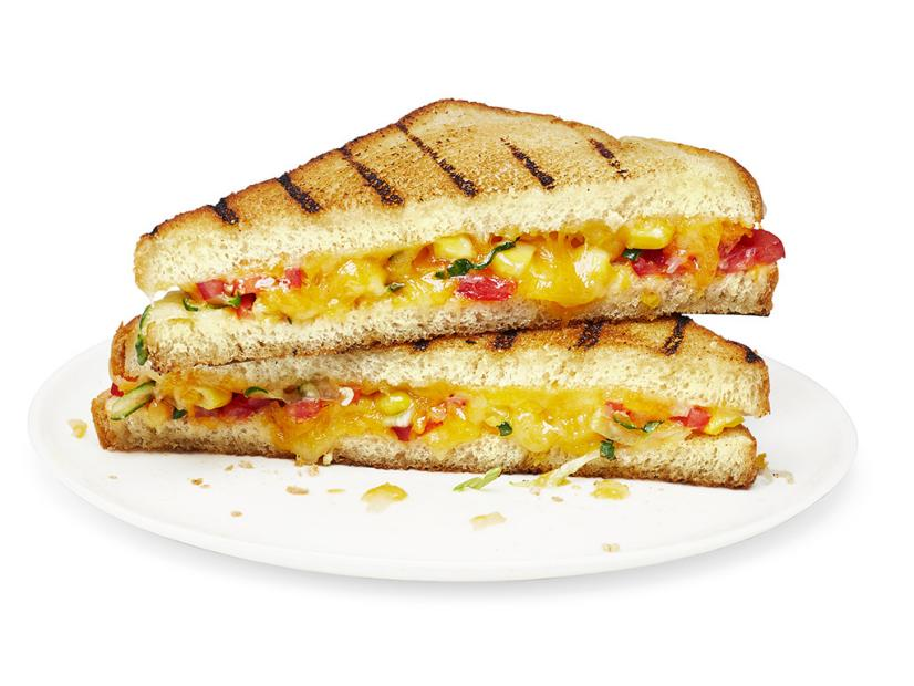 Grilled Cheese With Corn Recipe Food Network Kitchen Food Network Food Network Recipes Grilled Cheese Recipes