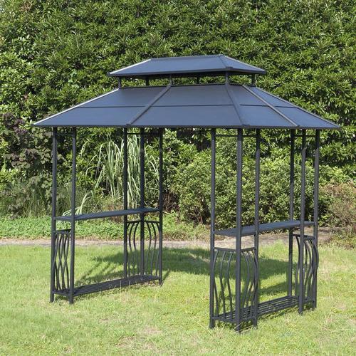 Backyard Creations® Steel Roof Grill Gazebo in 2020 ...