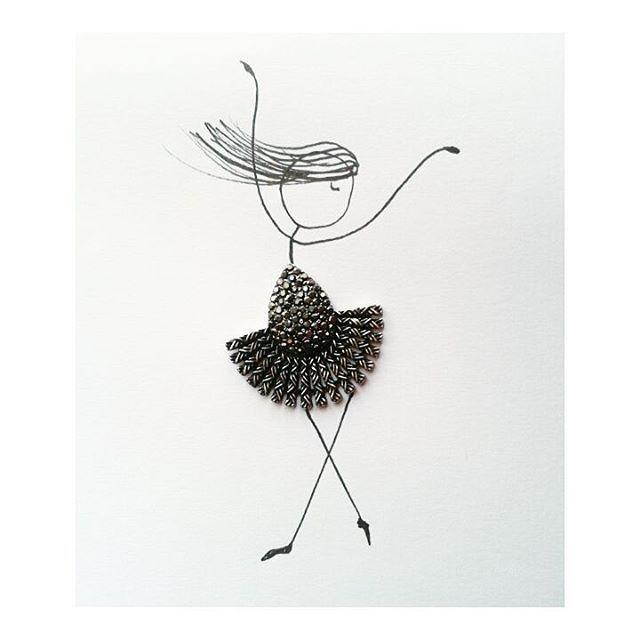 Que el fin del mundo te pille bailando #handmade #creative_minimalism #dancing #saturday #your_creative_idea