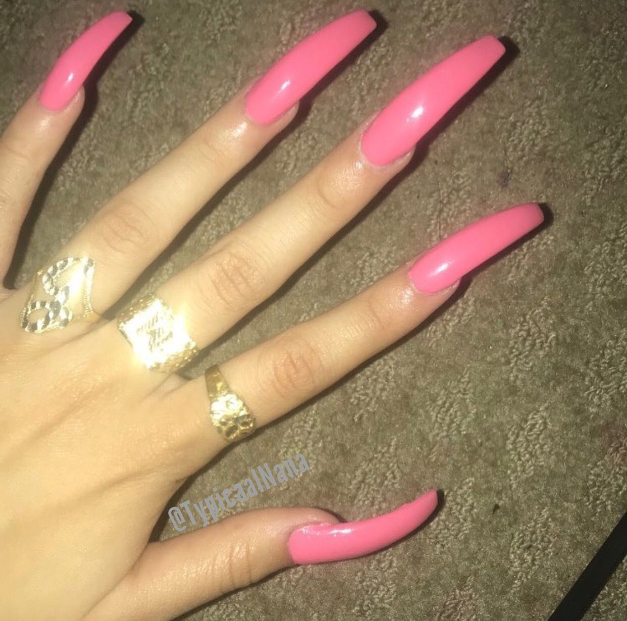 Follow Whothatchai For More Creds To All Original Pinners Long Square Acrylic Nails Acrylic Nails Coffin Pink Square Acrylic Nails