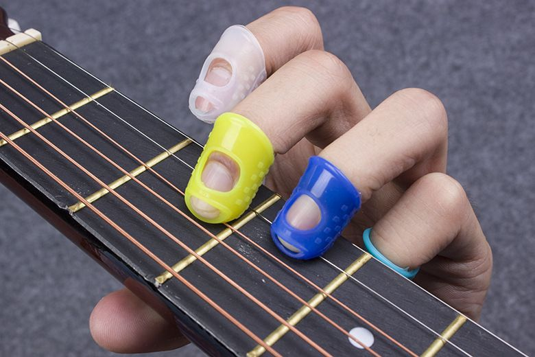 Guitar Finger Guards : the best guitar fingertip protectors silicone finger guards for ukulele best guitar fingertip ~ Vivirlamusica.com Haus und Dekorationen