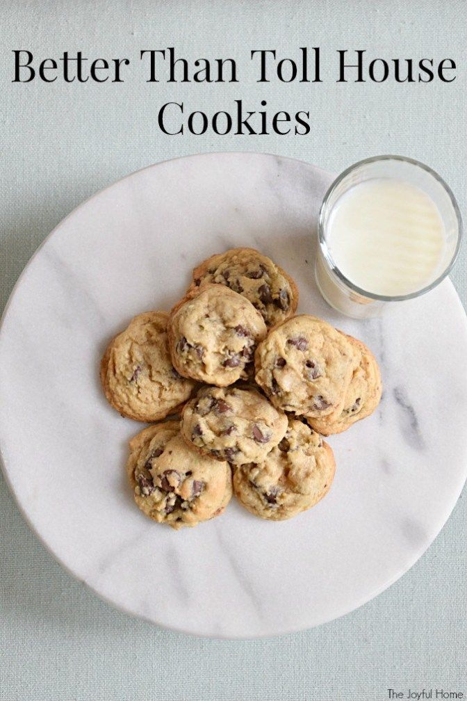 Toll House Chocolate Chip Cookies Recipe The Originals