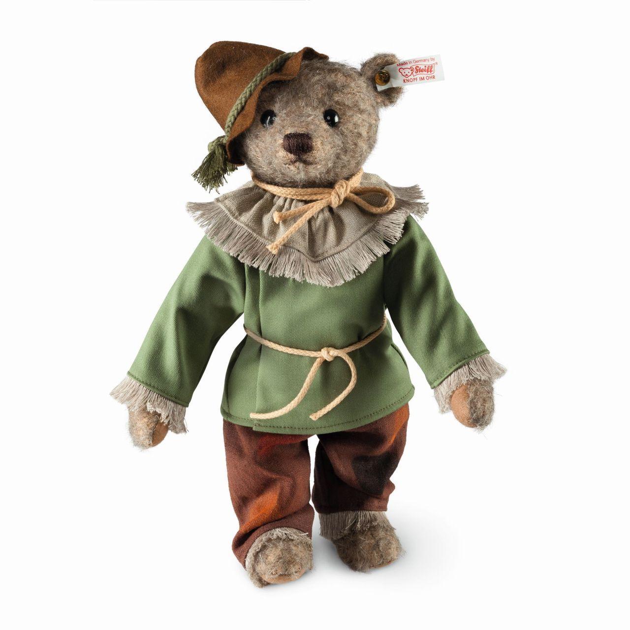 Wizard of oz christmas decorations uk - Steiff Wizard Of Oz Scarecrow Teddy Bear Ean 682681