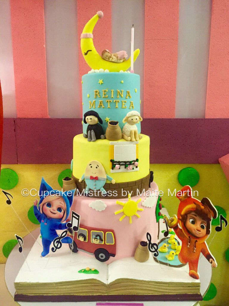 Dave And Ava Nursery Rhymes Cake 1st Birthday Decorations Baby
