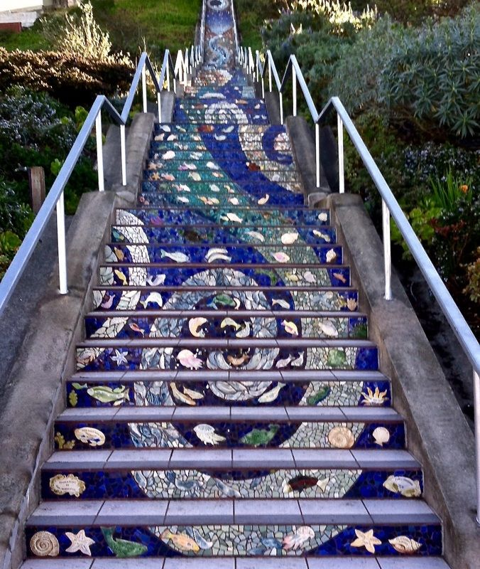 Best 16Th Avenue Tiled Steps San Francisco California Tile 400 x 300