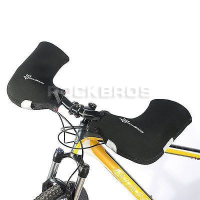 Handlebar Mitts Pogies Mittens For Cold Weather Riding MTB Fat Bike Motor Bar