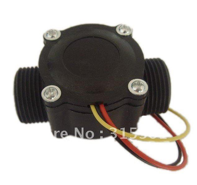 """80.00$  Watch here - http://ali5le.shopchina.info/go.php?t=582881368 - """"Free Shipping High Quality G3/4"""""""" Flow Water Valve Counter Sensor For Industry Agriculture Irrigation 3.5V - 24V DC 10PCS A Lot""""  #buyonline"""