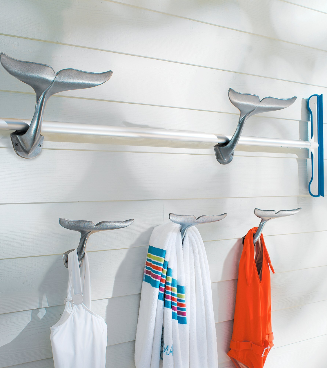 Whale Tail Hooks Frontgate Whale Tail Hook Pool Towels Nautical Bathrooms