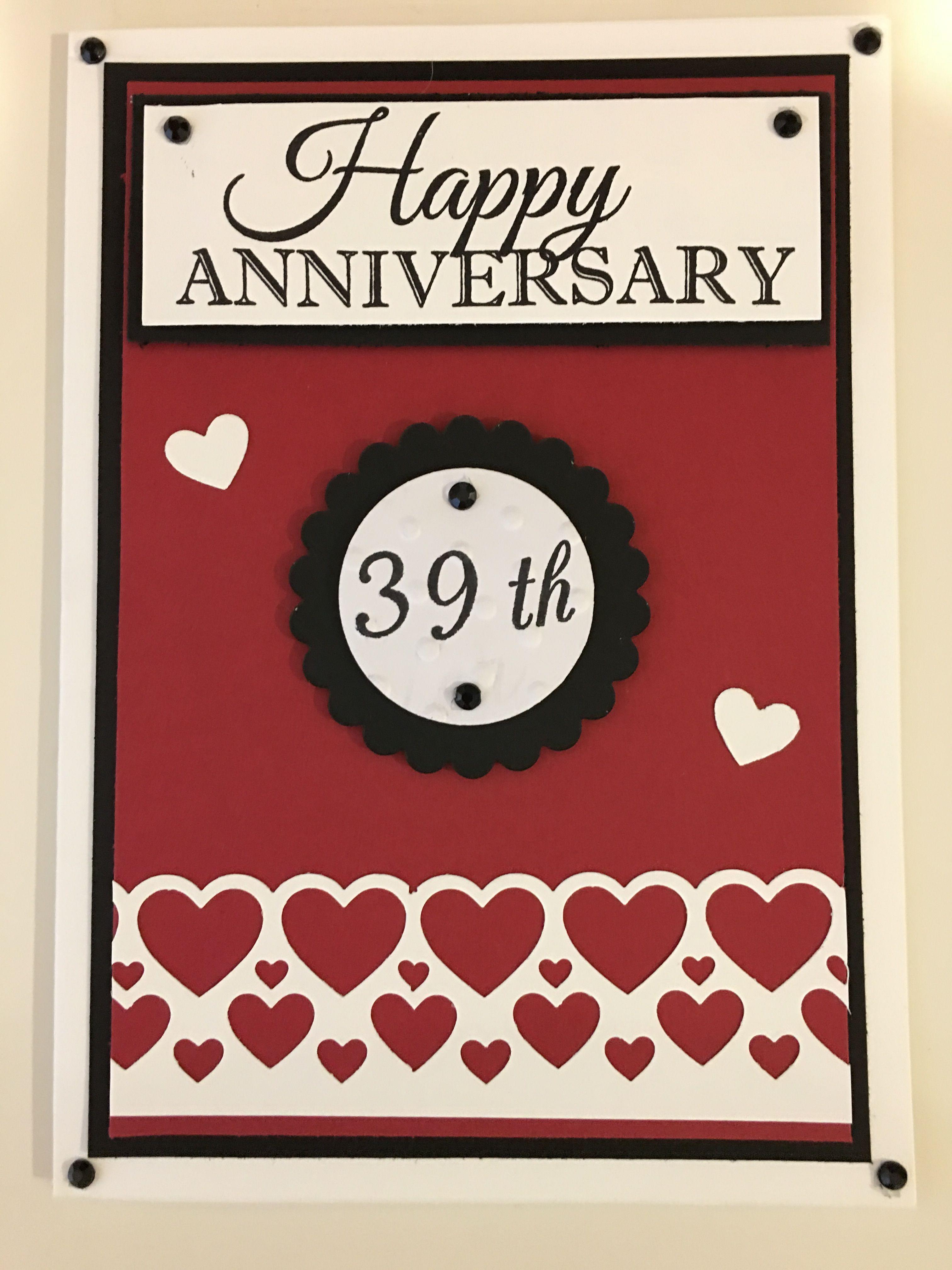 Cby handmade anniversary card that i made for my husband