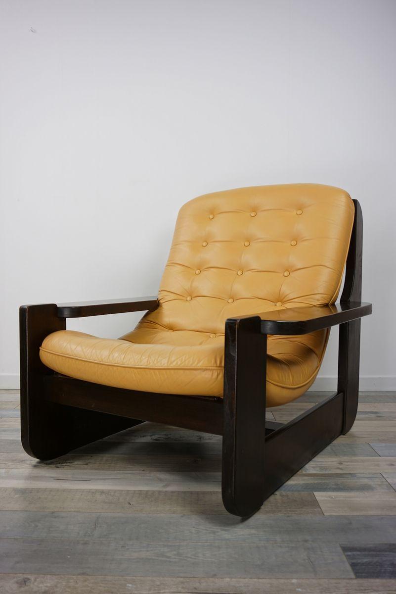 Design Sessel Leder Holz Hukla Relaxsessel Ersatzteile