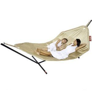 fatboy oversized sand headdemock garden hammock with stand from fatboy at the fatboy bean bag uk fatboy oversized sand headdemock garden hammock with stand from      rh   pinterest
