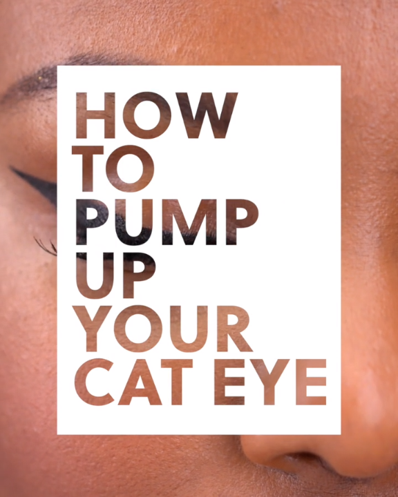 How to Pump Up Your Cat Eye