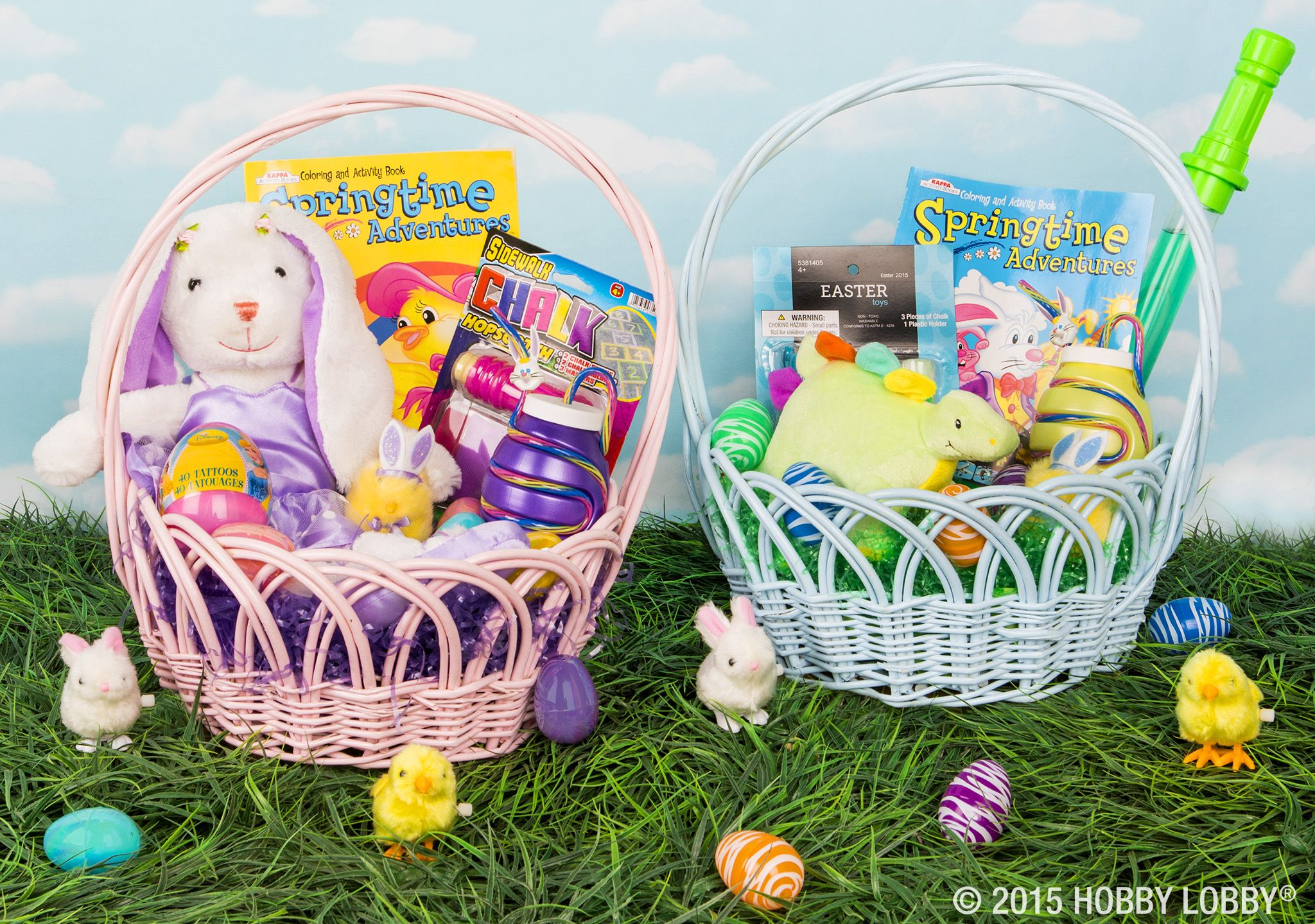 Give your snuggle bunnies a basket full of smiles this Easter!