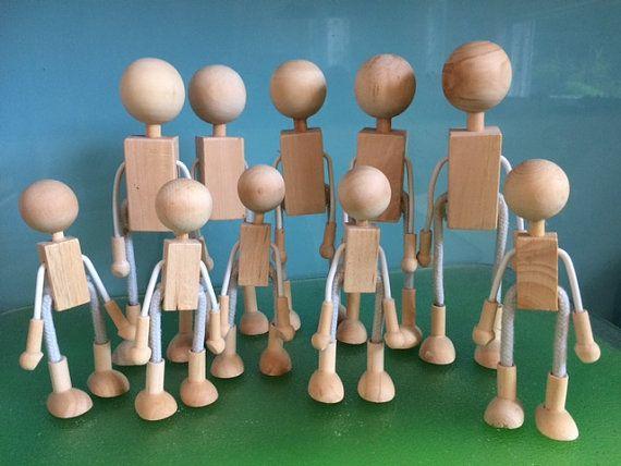 Bulk 100 Wooden Dolly Craft PegsPeg Doll Crafts