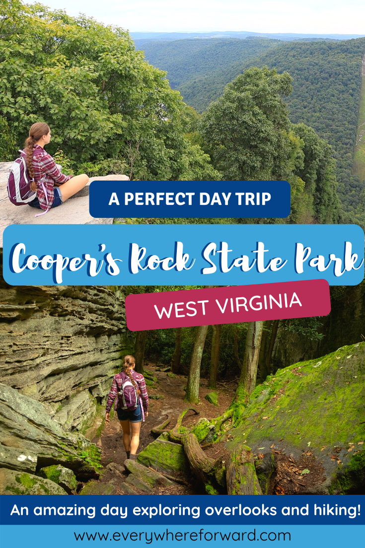 Day Trip to Cooper's Rock State Forest West Virginia