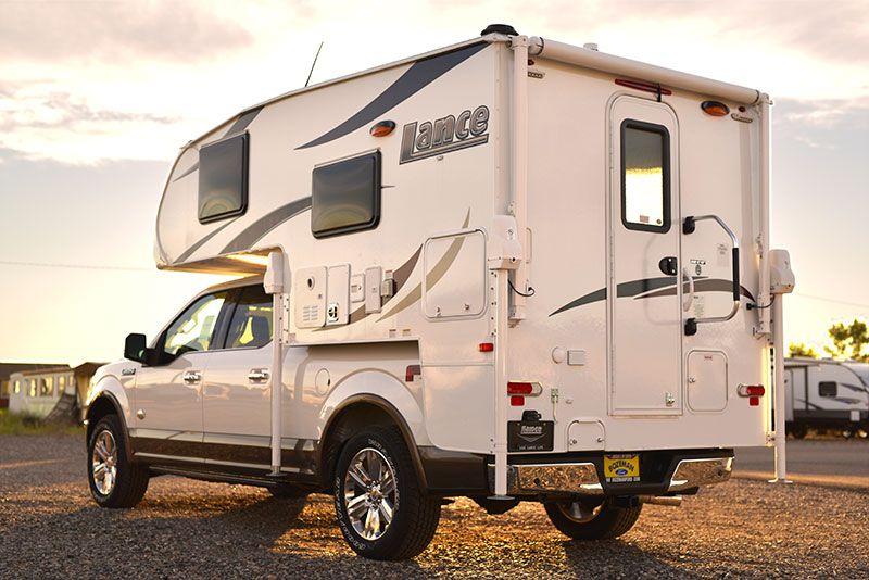 2019 Lance 650 Review Truck Camper Truck Bed Camper Camper Lights