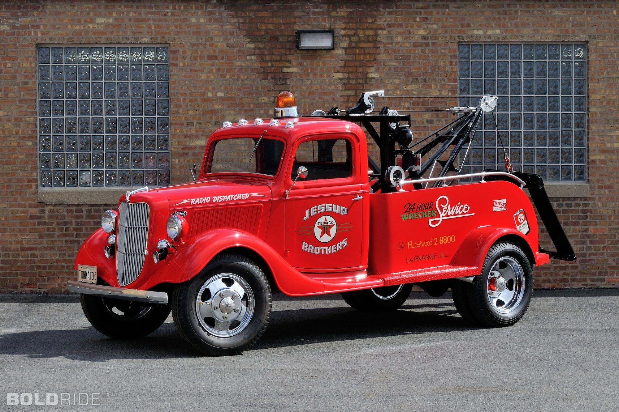 1936 ford model 51 wrecker