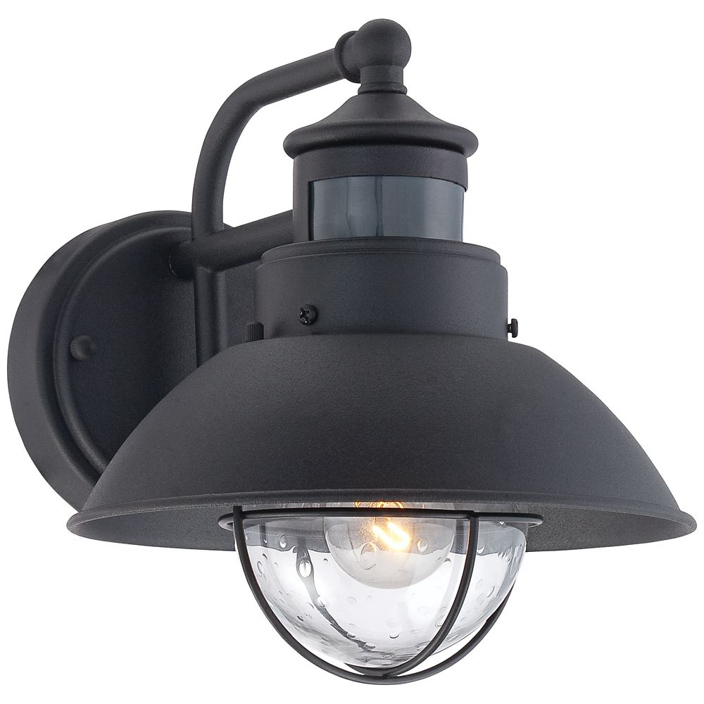 Fallbrook 9h black dusk to dawn motion sensor outdoor light style fallbrook 9h black dusk to dawn motion sensor outdoor light style 5y111 aloadofball Choice Image