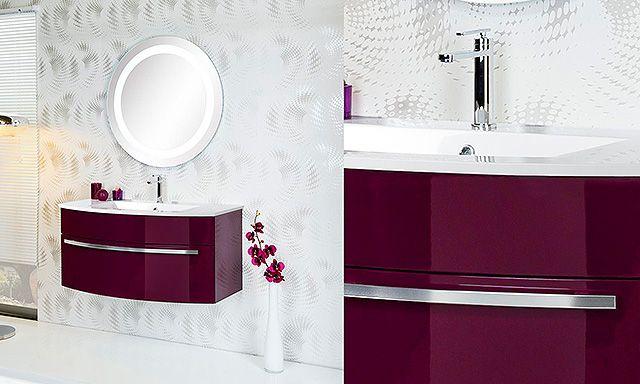 ensemble plan vasque en marbre reconstitué, meuble 1 tiroir coloris
