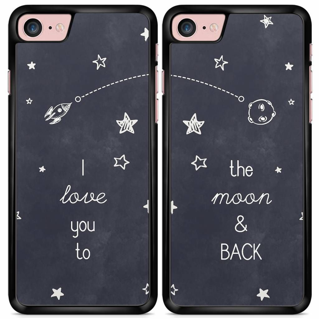 Yay I Love You To The Moon And Back Best Friends Cases Are Available For Iphone Samsung Htc Huawei An Bff Phone Cases Friends Phone Case Best Friend Cases