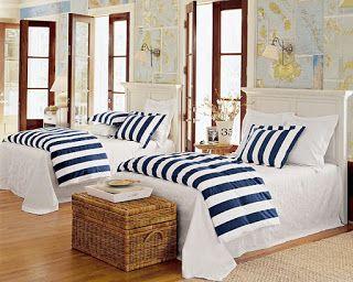 Schlafzimmer Maritim wandgestaltung schlafzimmer maritim minimalistische haus design